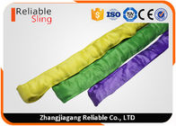 EN 1492-2 Heavy Duty Polyester Round Slings / Endless Webbing Sling with Logo Printing