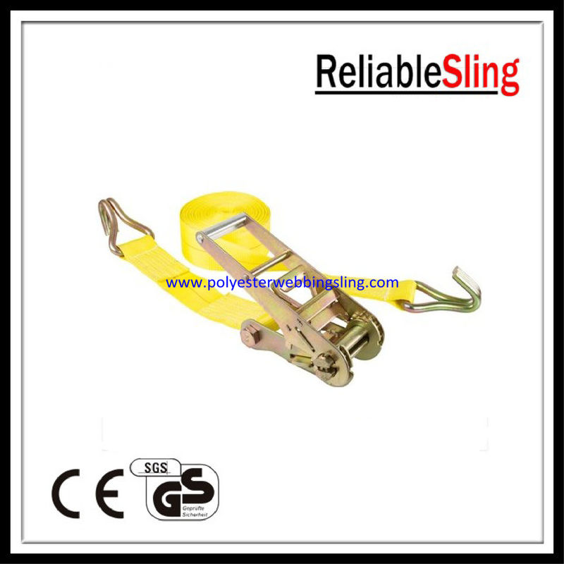 "3"" / 4"" x 30ft Truck ratchet tie down straps with Wire Hook B.S. 15000LBS / 16200LBS"