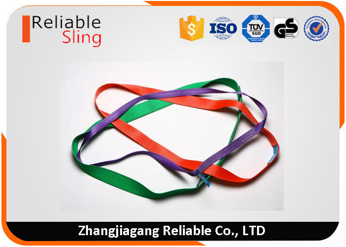 Portable Single Multiple Size Endless Webbing Sling Polyester endless web slings
