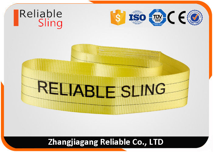 Polyester Flat Belt Endless Webbing Sling En Standard Color Coded  Polyester Web Slings