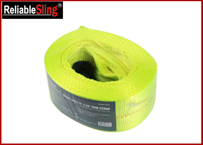 20000 lbs Polyester Heavy Duty Tow Straps Flat Eye Recovery Strap